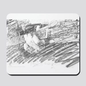 Guitar Sketch Mousepad